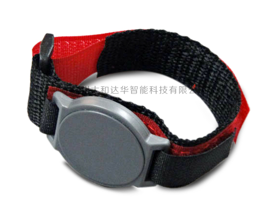 RFID手腕带125KHzID尼龙手表卡 魔术贴 手腕标签 RFID Wrist band