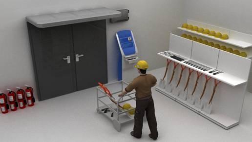 RFID技术应用在电力行业工具管控